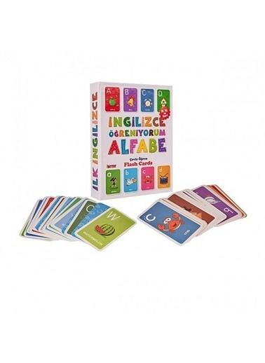 Bunjoy Flash Cards İngilizce Alfabe 1284 (Diy-Toy Yayınları) Renkli